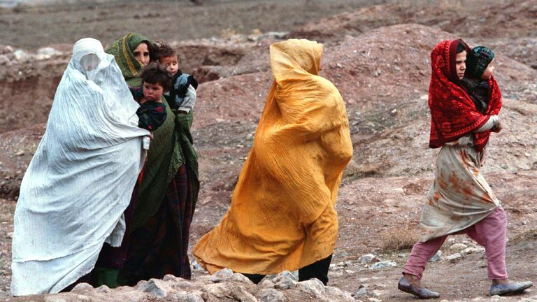 Normal Afghans lived in fear during the years the Taliban were in power before