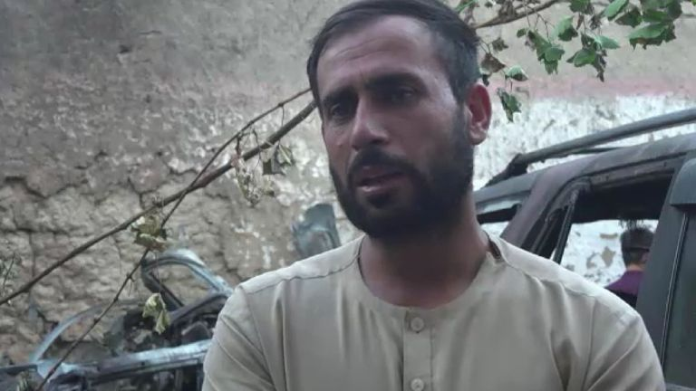 Aymal Ahmad lost 10 members of his family to the drone strike