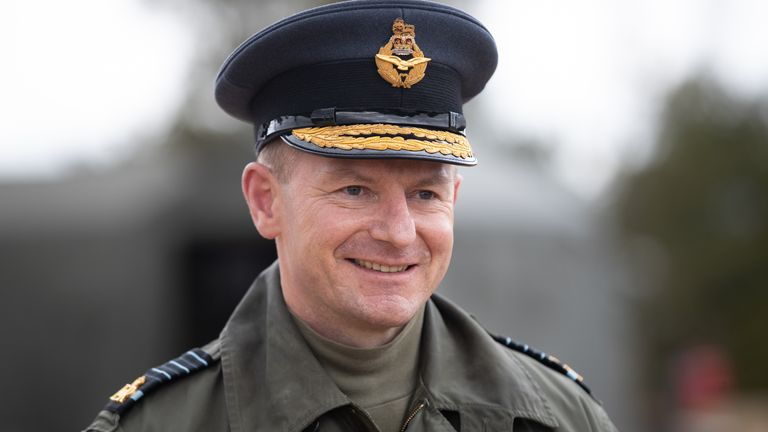 Air Chief Sir Mike Wigston spoke to The Daily Telegraph