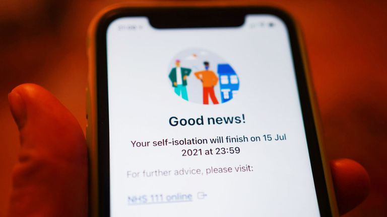 The Department of Health says the sensitivity of the app will not be impacted, nor will the risk threshold