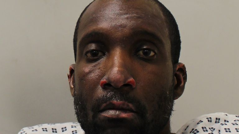 Damion Simmons was found guilty of murder is estranged wife after setting her on fire in her home in London