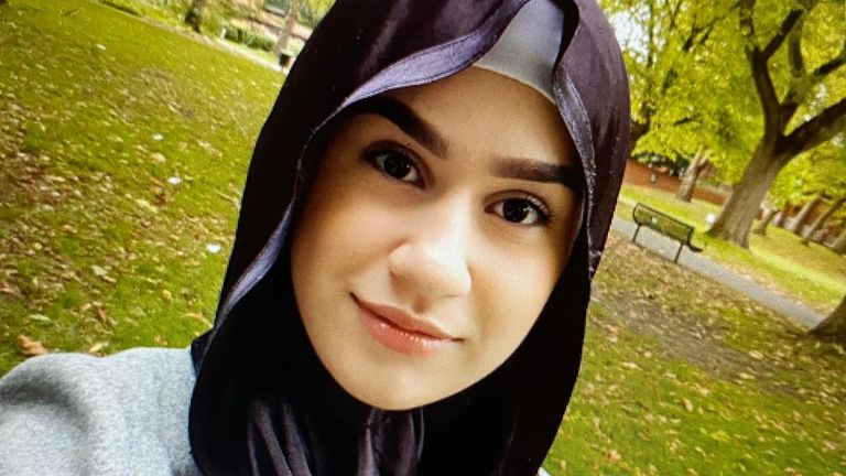"""Her family paid tribute to her: """"God chose you as an angel in his heaven. Heaven is yours and may God give us the patience after your murder."""""""