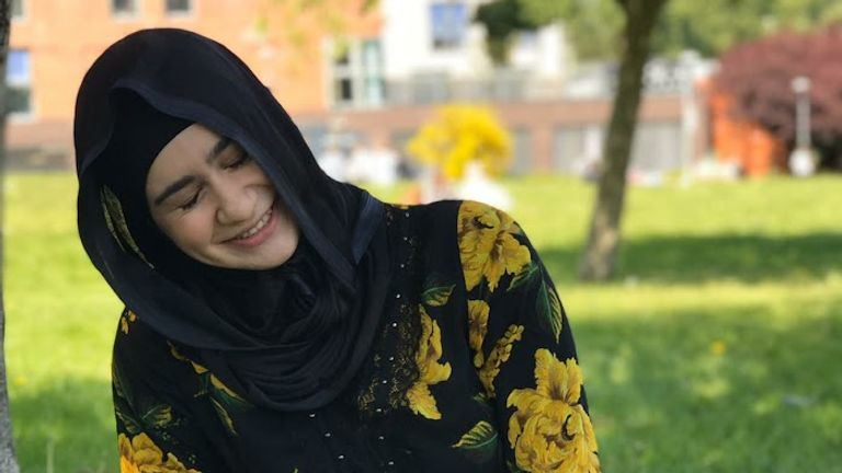 Aya Hachem was walking to a supermarket when she was shot and killed.