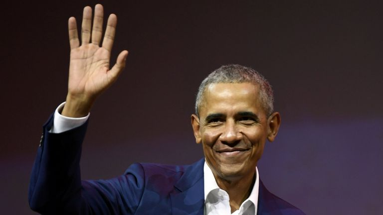 The party will be held at Mr Obama's holiday home