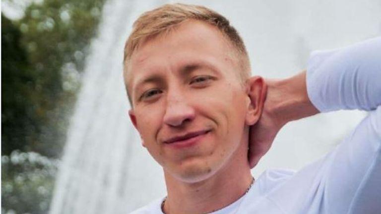 Vitaly Shishov was found dead in Kyiv. Pic: Belarusian House in Ukraine