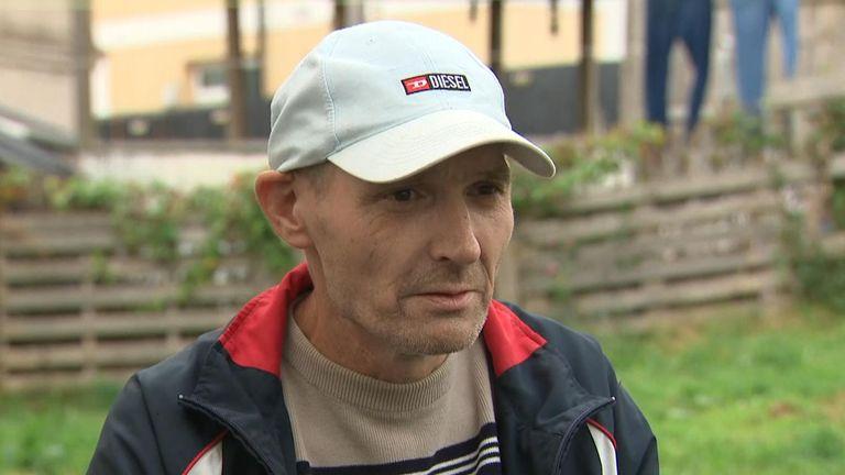 Bert Pinkerton saw gunman Jake Davison 'walking like he was on patrol' after shooting five people