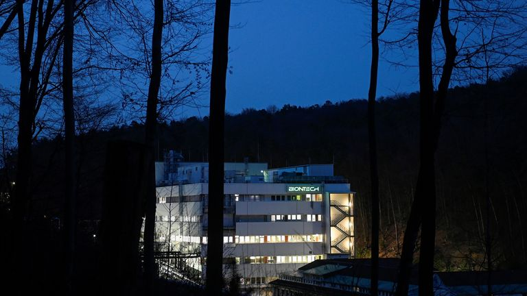 The firm's facility in Marburg, Germany