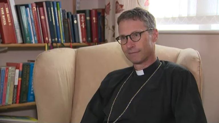 Philip North, the Bishop of Burnley, says Englishness is 'in crisis'