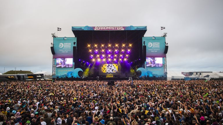 Boardmasters organisers are working alongside public health officials Pic: Andrew Timms/Boardmasters