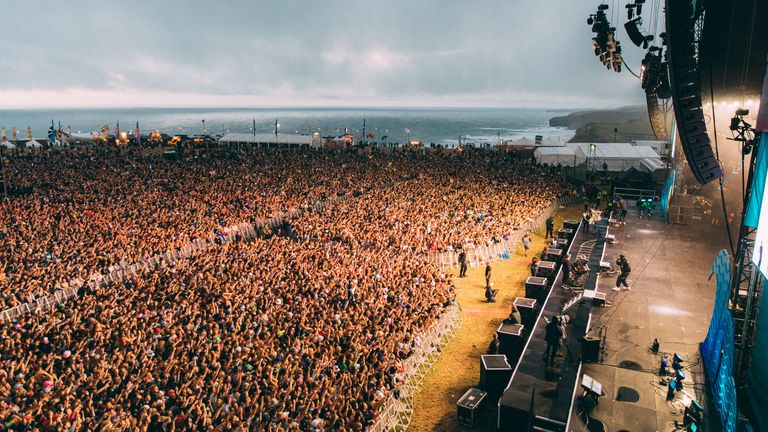 Almost 5,000 COVID-19 cases are believed to be linked to Boardmasters Pic: Darina Stoda/Boardmasters