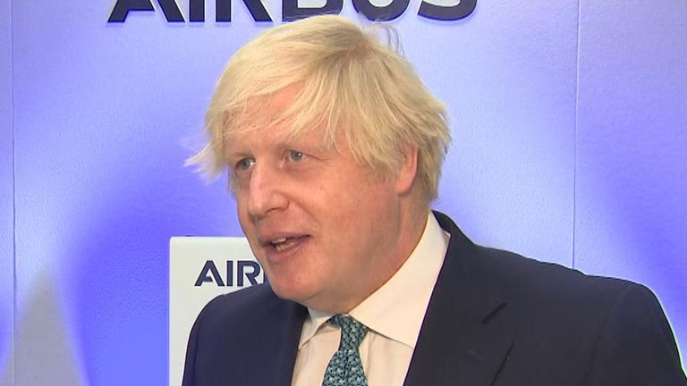 Prime Minister Boris Johnson says 'we have to have a balanced approach' to travel to stop variants entering the country.