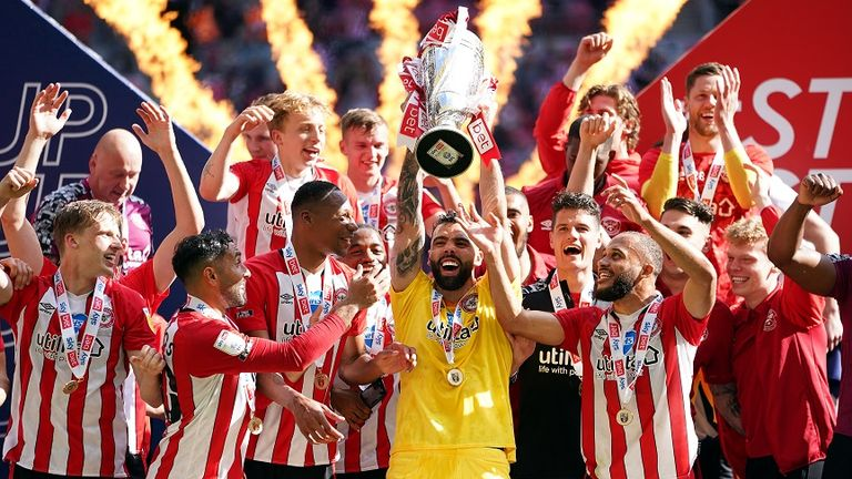 After losing out last season, Brentford won's this year's play-off final