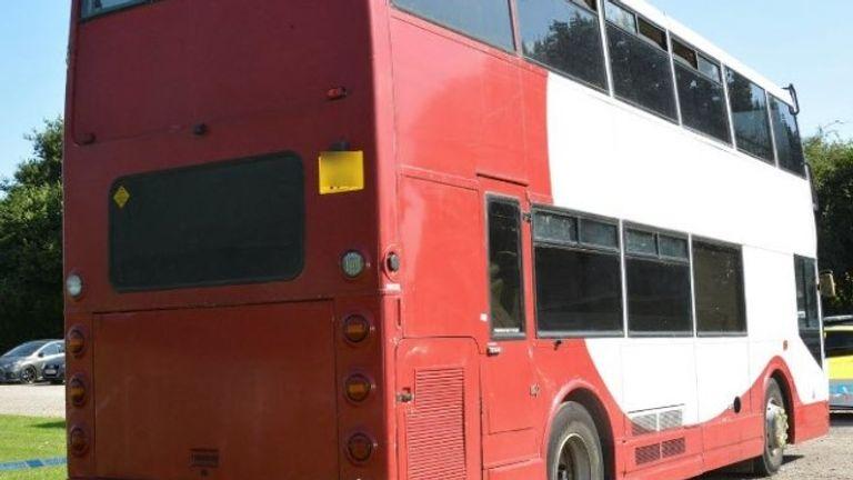La police veut parler à quiconque a vu ce bus de Brighton et Hove désaffecté entre le 20 et le 23 août