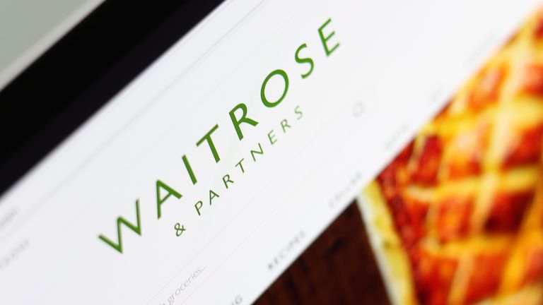 Waitrose launched its online store last year after ending a partnership with Ocado