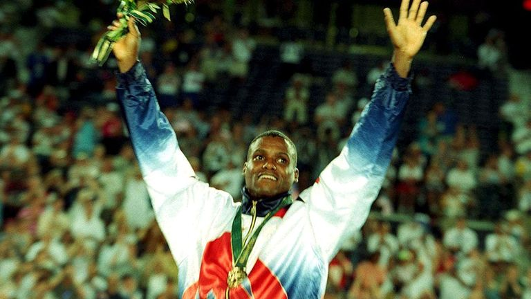 Carl Lewis won nine Olympic gold medals. Pic: Action Images