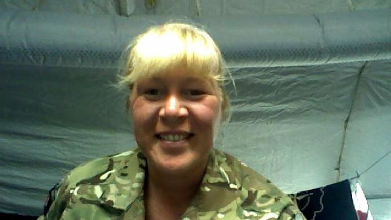 Caroline Buckle is still dealing with the impact serving in Afghanistan had on her mental health