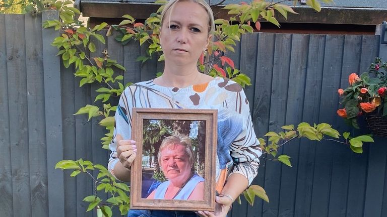 Kerry Walters' mum Caroline caught COVID while in hospital for an operation