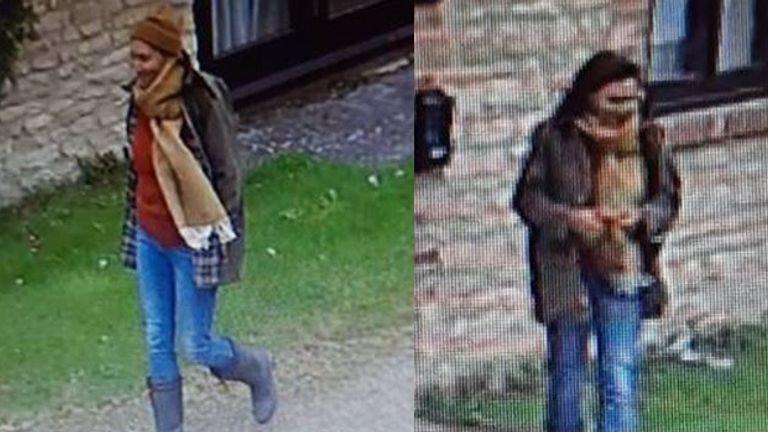 Officers from Thames Valley Police investigating an unexplained death near Yarnton, Oxfordshire, are today releasing CCTV images of a woman believed to be that of the person who was located in Cresswell Lake between the A40 and A34. Thames Valley Police handout