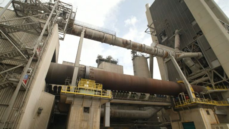 The production of cement accounts for around seven per cent of global carbon emissions