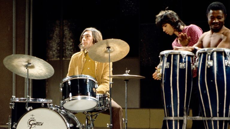 The Rolling Stones perform on Frost On Saturday in 1968. Pic: ITV/Shutterstock