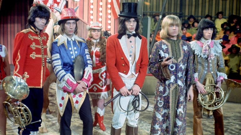 Rock And Roll Circus in 1968. Pic: David Magnus/Shutterstock