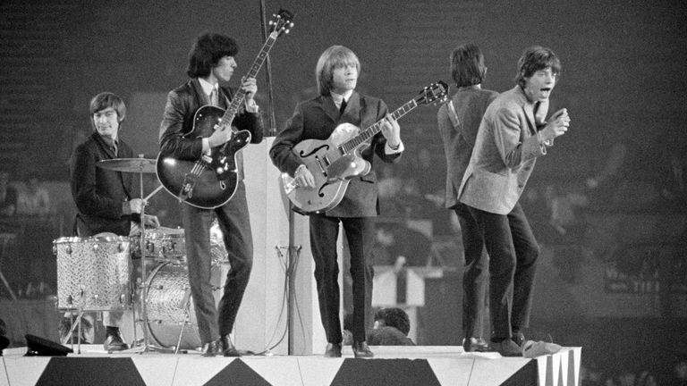 The Rolling Stones performing in 1964. Pic: Bill Orchard/Shutterstock