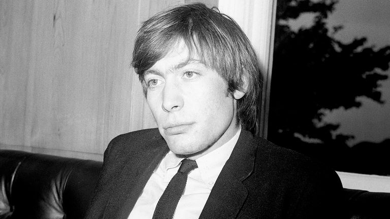 Charlie Watts in 1964