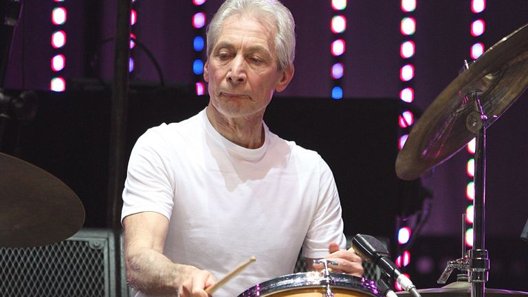 Charlie Watts has died aged 80