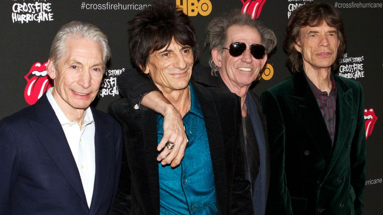 The Rolling Stones. Pic: Greg Allen/Shutterstock