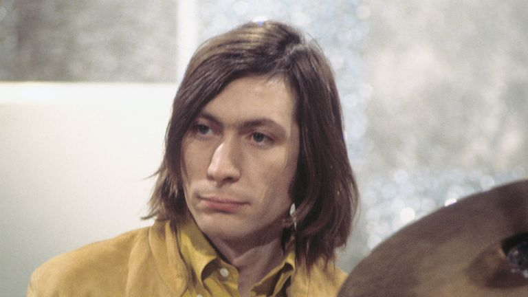 Charlie Watts in 1968