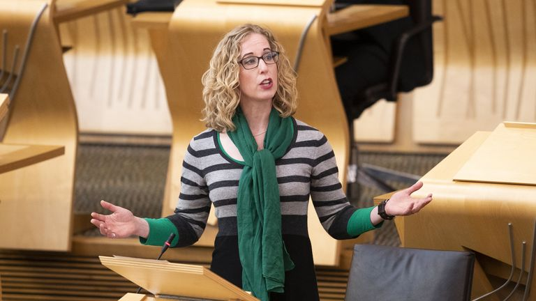 Scottish Green Party co-leader Lorna Slater has criticised the government's policy on North Sea drilling