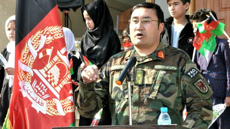 Colonel Hanif Rezai was the spokesman for the 209th Shaheen corps