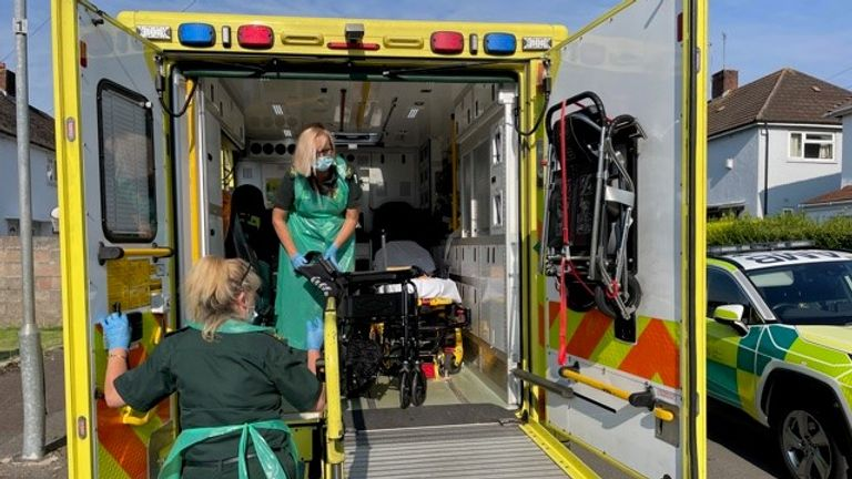For Angie Dymott and Lynda Stephens in Cardiff, the 999 called were non-stop on a 12-hour shift
