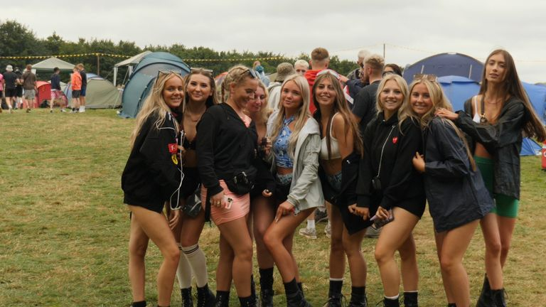 Festival goers missed out last year, due to the pandemic