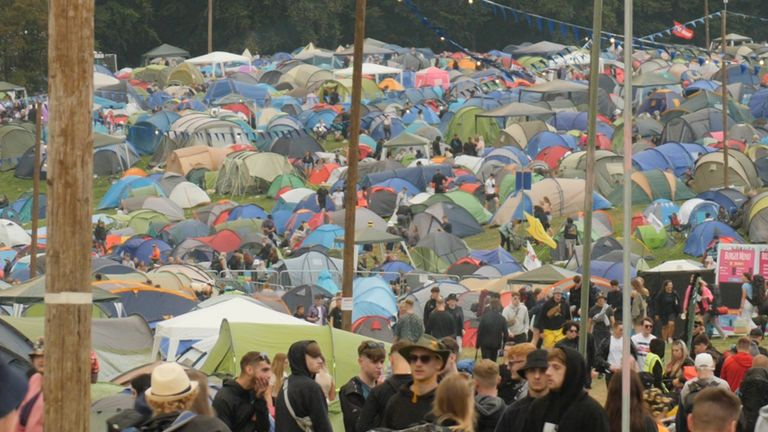 170 thousand revelers are expected to descend on Reading, Leeds and Creamfields festivals