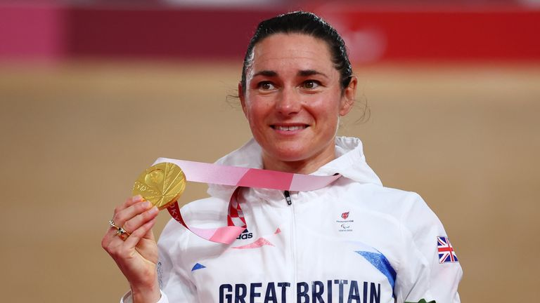 Dame Sarah Storey could become Great Britain's most decorated Paralympian later this week