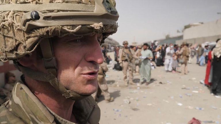 Sergeant Major Daz Mcmahon