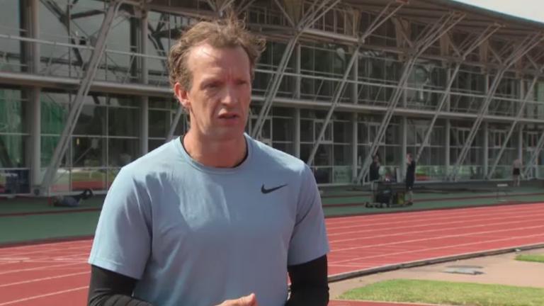Paralympic runner Richard Whitehead