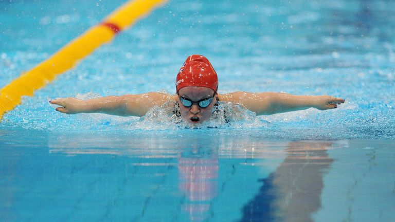 Ellie Simmons broke two world records at London 2012