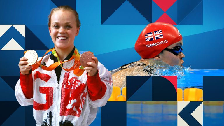 Ellie Simmonds is competing in her fourth Paralympics