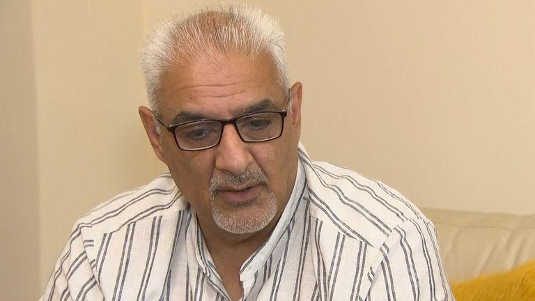 Tariq Jahan - father of England riots victim