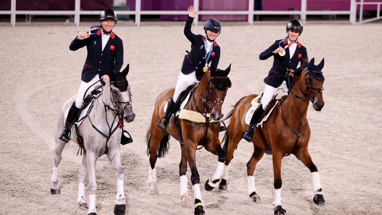 Laura Collett's, Tom McEwen's and Oliver Townend's team eventing gold is a historic one - the first in eventing since Munich 1972.
