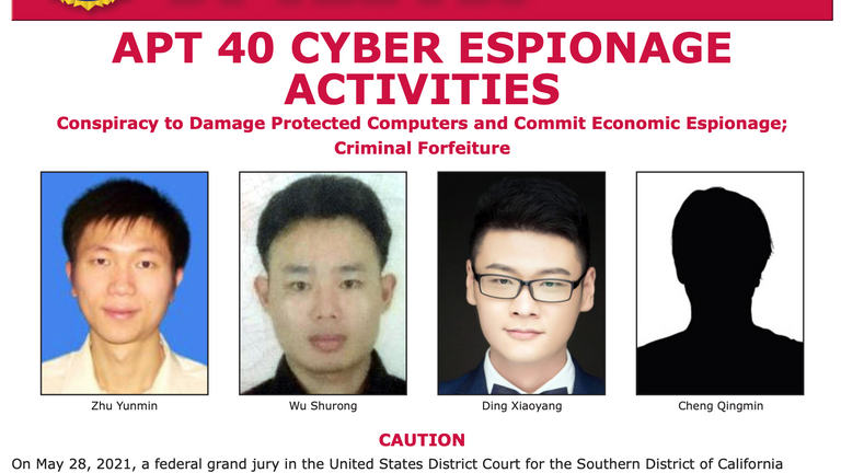 Wanted by the FBI: Chinese nationals named by US over hacking charges
