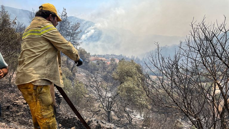Climate change has made the fires more challenging