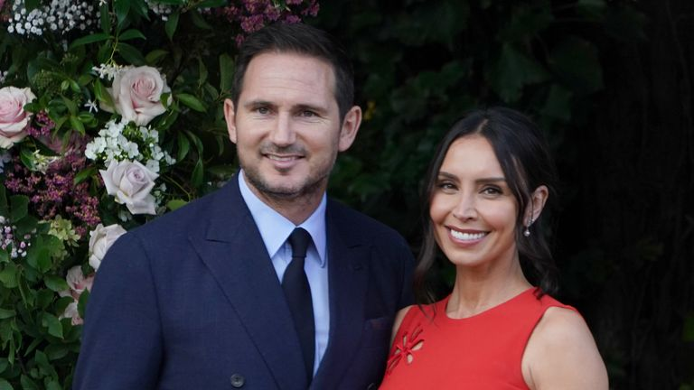 Frank and Christine Lampard.
