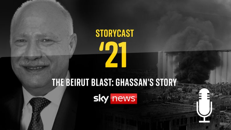 Ghassan Hasrouty was one of the more than 200 victims of the Beirut port explosion in August last year