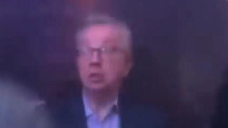 Michael Gove dancing at an Aberdeen nightclub. Pic: EmmaLamentMusic