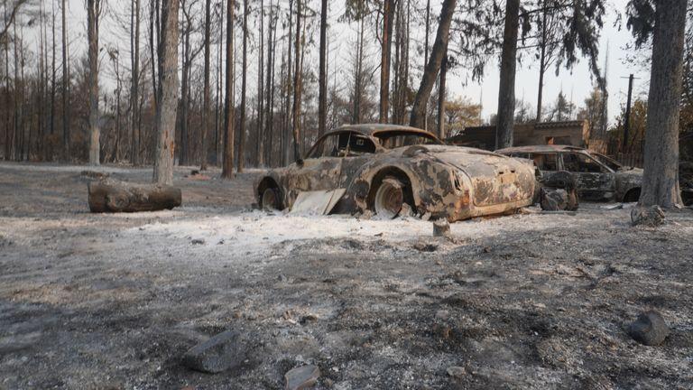 Fires have devastated Greece