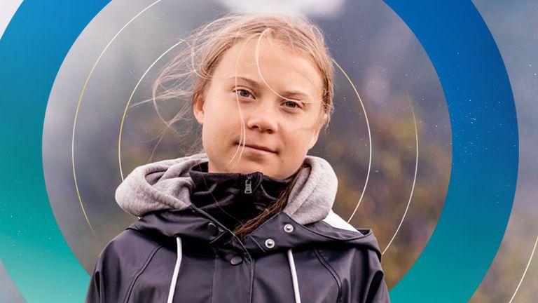 Climate activist Greta Thunberg has said the UK is 'very good at creative carbon accounting'. Pic: AP