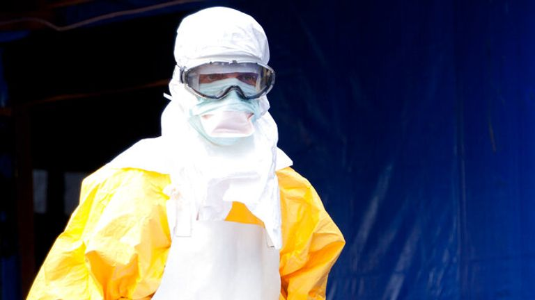 Marburg virus has been detected in Gueckedou where Ebola outbreaks have occurred. Pic: AP